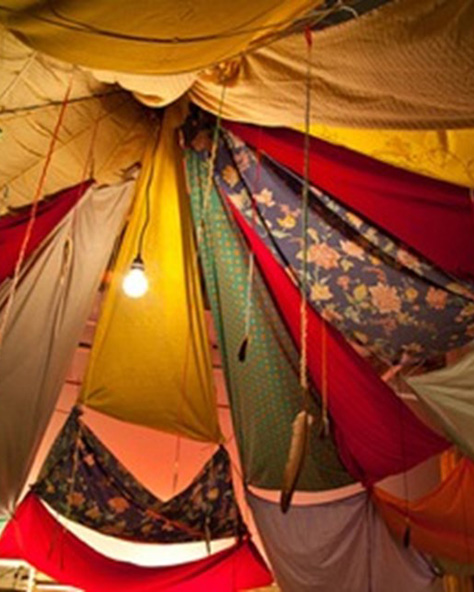 Biggest Blanket Fort Ever!