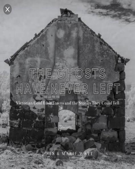 THE GHOSTS HAVE NEVER LEFT- Marie & John Watt in conversation with local storyteller, Anne E Stewart