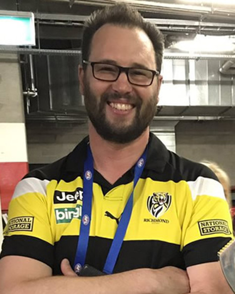 Author Konrad Marshall talks about Richmond's premierships